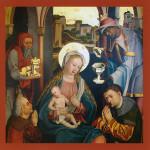 Weihnachtskarte Hochaltar