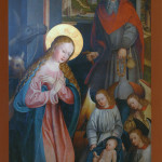 Weihnachtskarte II Hochaltar
